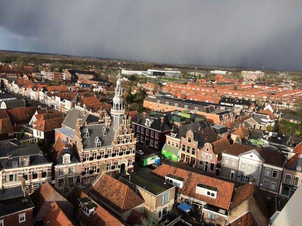 Franeker uit de lucht