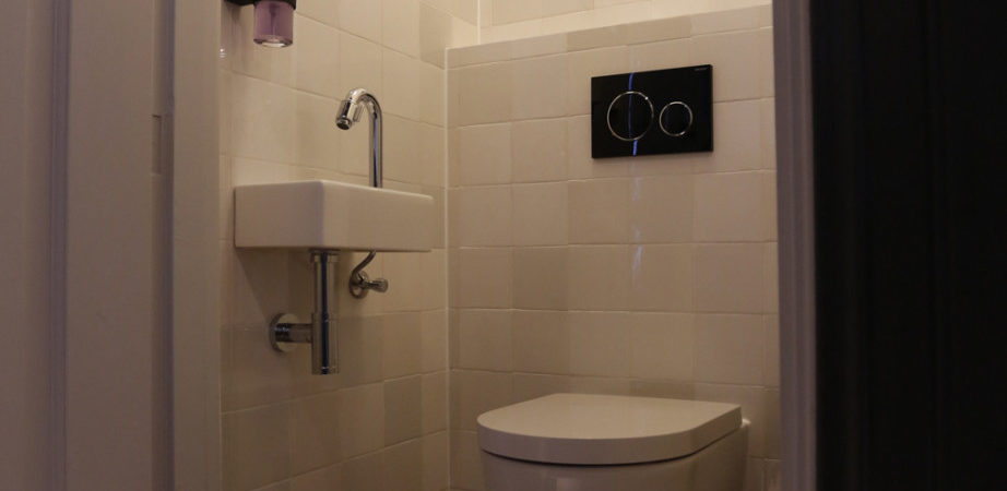 Vakantiewoning Wetterhuske toilet